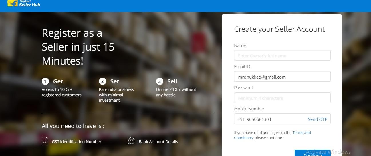 Best Way To Create Flipkart Seller Account