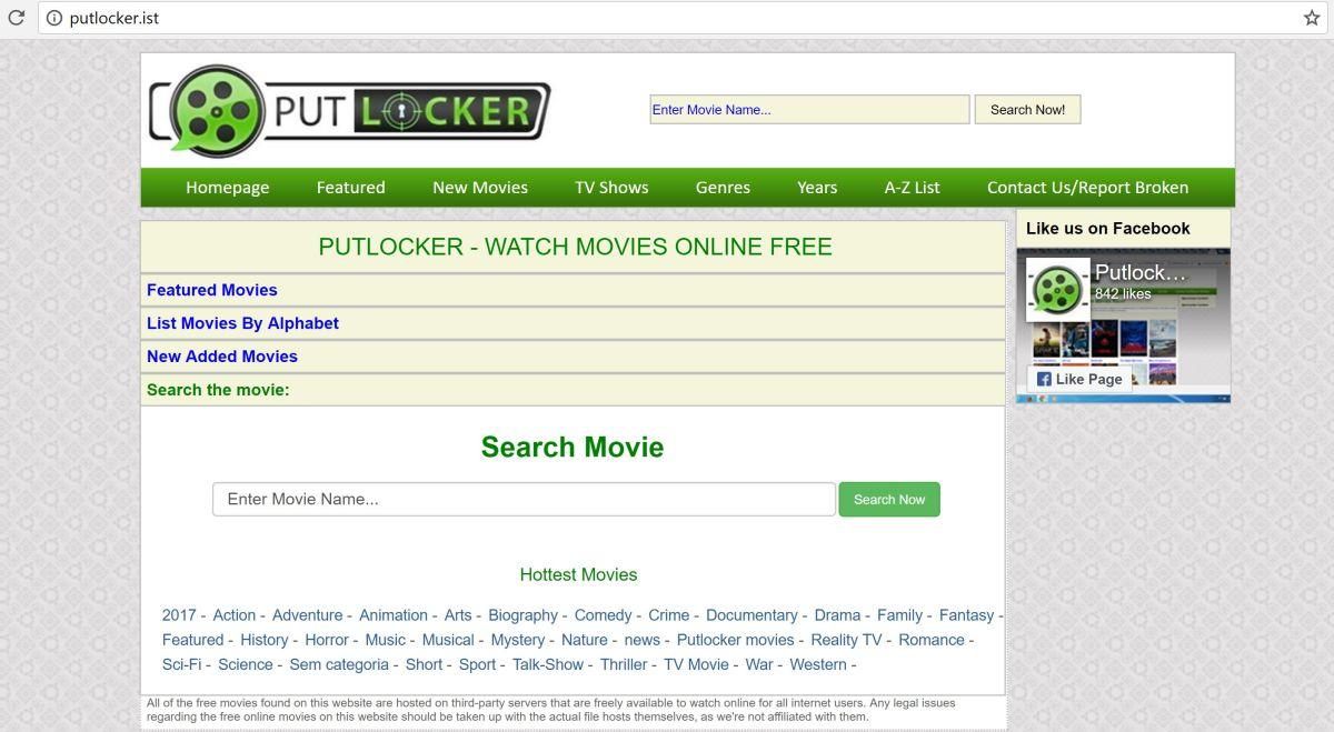 PROXY AND MIRROR SITES TO UNBLOCK PUTLOCKER MOVIES