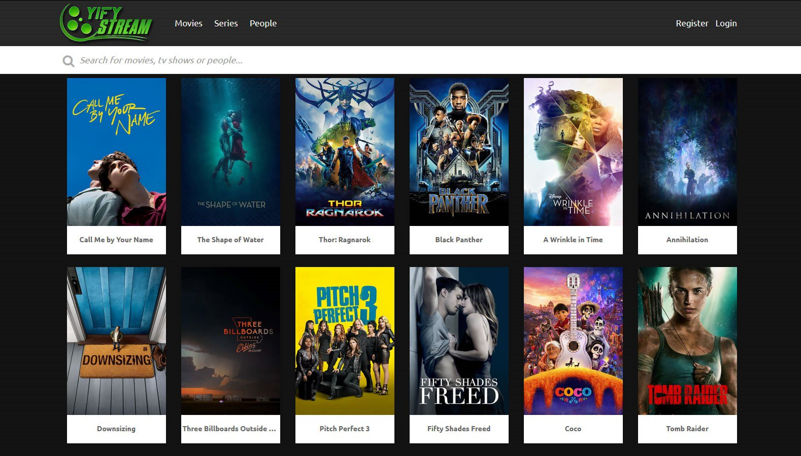 HD MOVIES PROXY/MIRROR SITES TO UNBLOCK YIFY