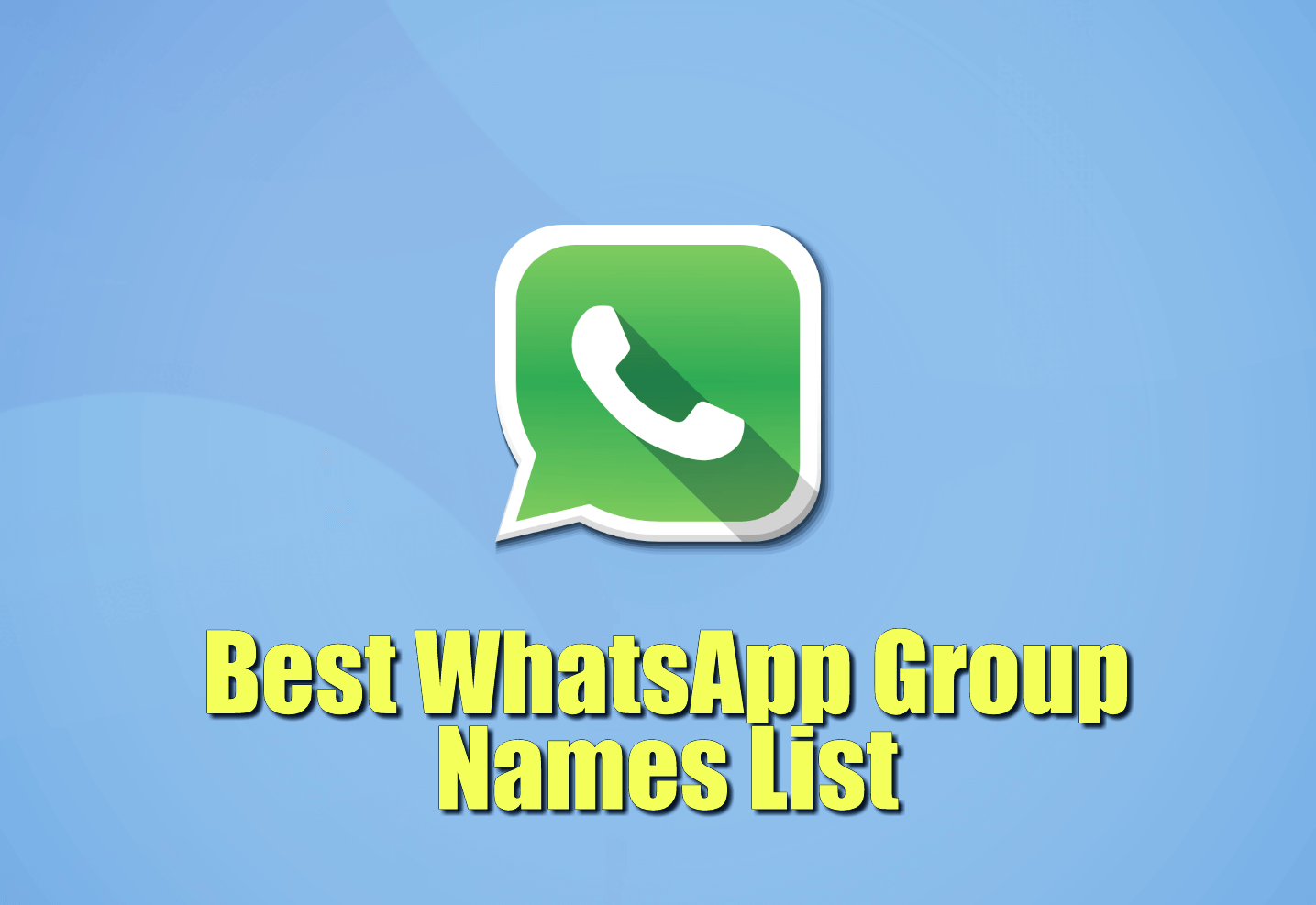 BEST TRENDING WHATSAPP GROUP NAMES 2019 IN MARATHI