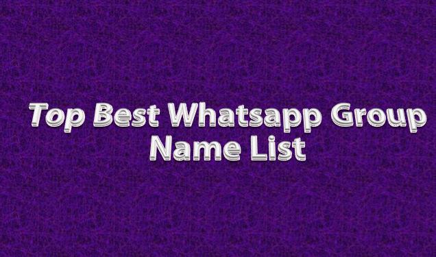 MOST TRENDING BEST MOTIVATIONAL WHATSAPP GROUP NAMES 2019