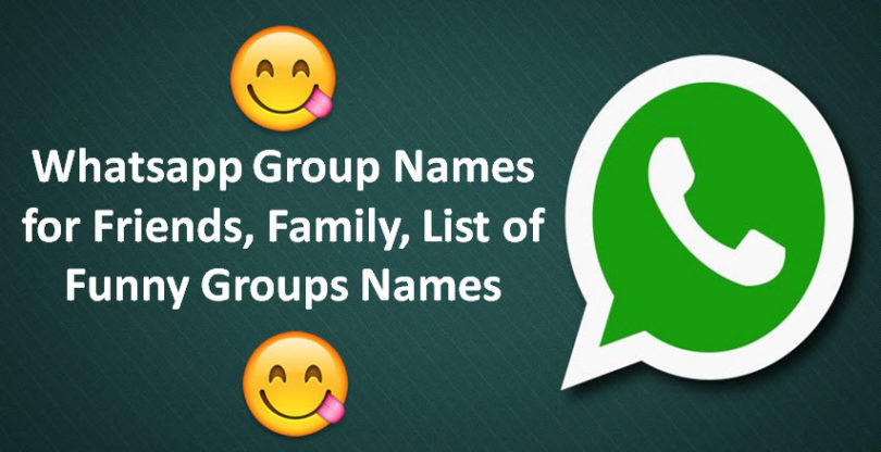 BEST FUNNY WHATSAPP GROUP NAMES 2019 IN HINDI