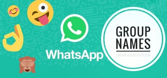 LIST OF AWESOME TRENDING BEST WHATSAPP GROUP NAMES IN 2019