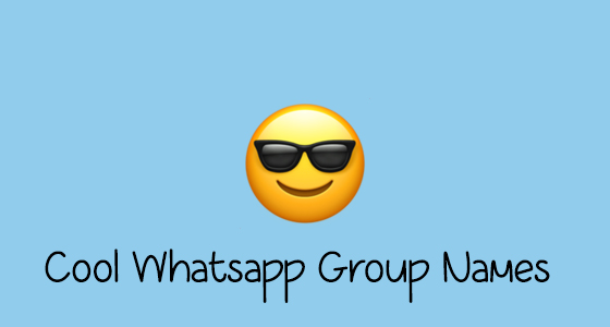 BEST TRENDING WHATSAPP GROUP NAMES FOR MORE THAN TWO PERSON