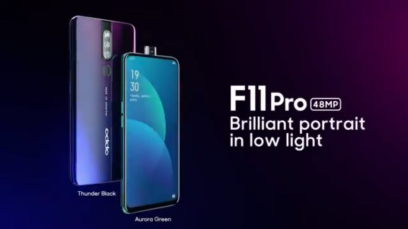 OPPO F11 PRO COMES WITH AN AWESOME SELFIE CAMERA